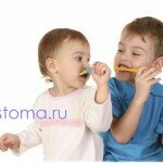 Электрическая зубная щетка детская