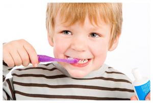 Удаление зубного камня и налета у детей