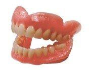 Зубной пластмассовый протез